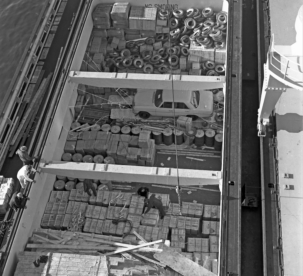 History and Heritage - Container Trade - Fremantle Ports
